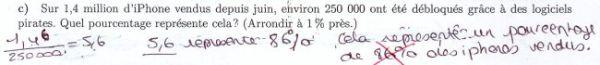 Calcul d'un pourcentage (faux)
