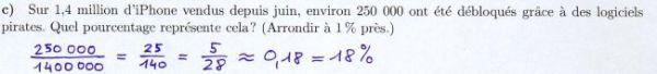 Calculer un pourcentage