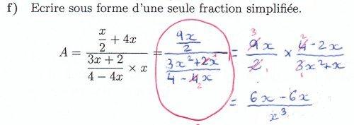 Comment ne pas calculer avec une fraction double