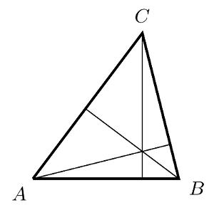 hauteurs triangle concourantes orthocentre