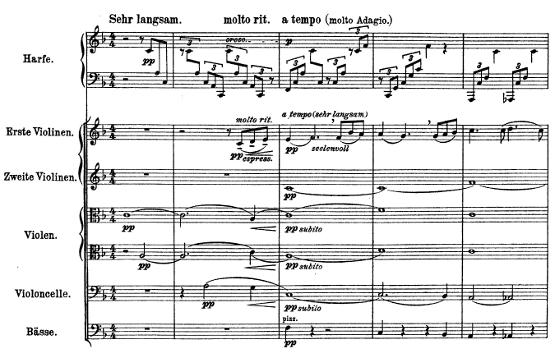 Gustaf Mahler Adaggieto partition