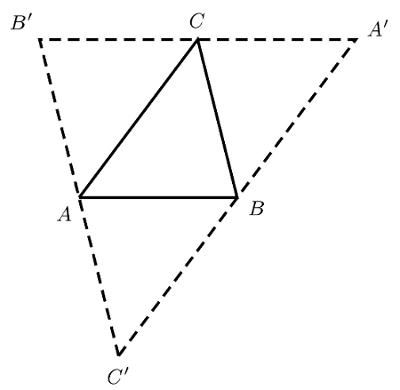 construire un triangle dual